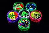 1pc Acrylic Smoking Smoke Tobacco Weed Pot Herbal Herb Grinder Spice Crusher Cutter (Random Delivery)