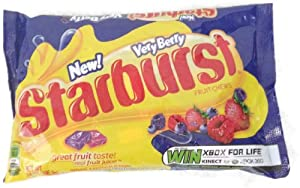 Starburst Very Berry, 14 Oz Bag (Pack of 2)