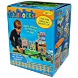 Babalu- City Blocks Stacking Blocks & Playmat