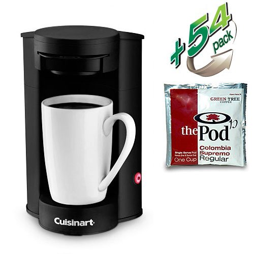 Tru Dual Coffee Maker : #Single Cup Coffee Brewers Discount: Cuisinart W1CM5 Commercial 1 Cup Coffee Pod Brewer with 54 ...