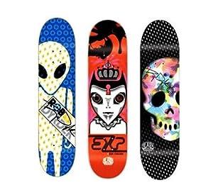 3 Rob Dyrdek Alien Workshop Skateboard Deck