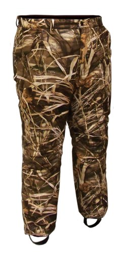 Coleman Mens Apparel Waterfowl Pants, Mossy Oak Duck Blind, X-Large