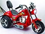 Mini Motos Red Hawk Motorcycle 6v Red