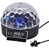 Super Beautiful LED RGB Crystal Magic Effect Ball light DMX Disco DJ Stage Lighting Play and Plug