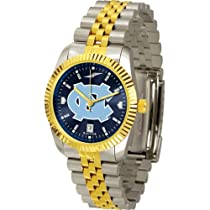 "North Carolina Tar Heels NCAA AnoChrome ""Executive"" Mens Watch"