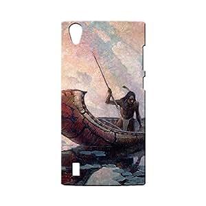 BLUEDIO Designer Printed Back case cover for VIVO Y15 / Y15S - G0534