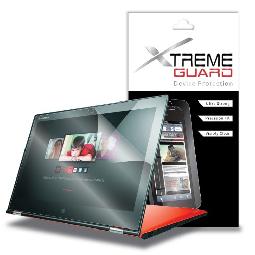 XtremeGuardTM Lenovo IdeaPad Yoga 2 Pro Tablet Screen Protector (Ultra Clear) at Electronic-Readers.com