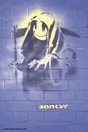 Empire 77080 Graffiti - Reaper, Mural London Plakat Poster Druck - 61 x 91.5 cm