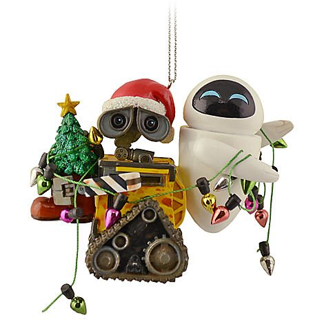 Disney Holiday Wall-E & Eve Ornament – Disney Theme Parks Exclusive & Limited Availability