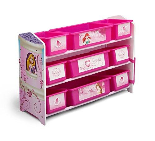 Delta Children 9 Bin Plastic Organizer, Disney Princess (Princess Organizer compare prices)