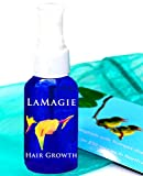 20% OFF Limited Time! La Magie Organic Fast Growth Serum for Long, Beautiful Hair ~ First Organic Hair Anti Hair Loss Product for Normal to Thinning Hair & Anti Hair Loss for You!