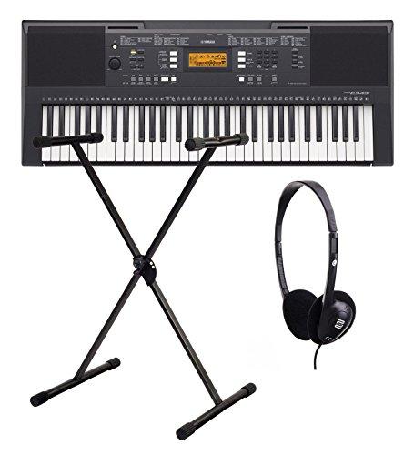 Yamaha PSR E343 Keyboard SET inkl. Ständer + Kopfhörer