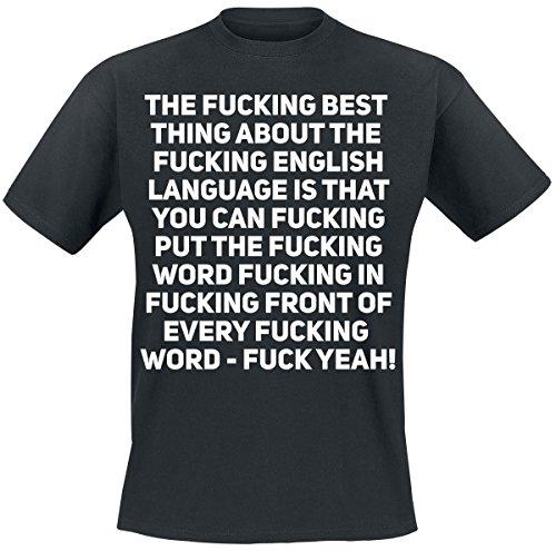 Fucking English T-Shirt nero 4XL