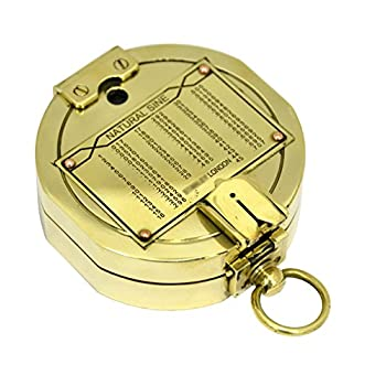 Beautiful Brass Gift Compass - Vintage Replica