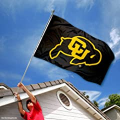 Buy Colorado Buffaloes CU University Large College Flag by College Flags and Banners Co.