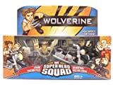 Wolverine Super Hero Squad Logan Motorcycle DeadPool Victor Creed