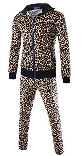 Men's Casual Hoodies Pants Set