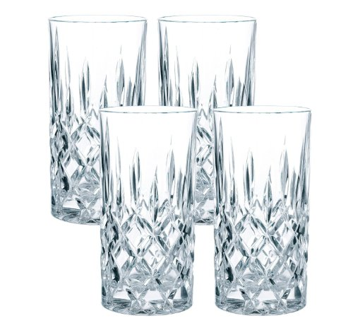 Spiegelau & Nachtmann 0089208-0 Longdrinkglas Noblesse, 4-er Set