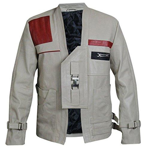 Clara Leather Jackets -  Giacca - Uomo Beige XL