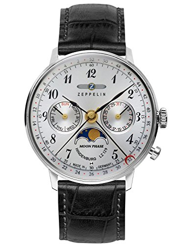 Zeppelin Ladies Watch with Moonphase 7037-1