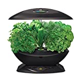 Miracle-Gro AeroGarden 7-Pod Indoor Garden with Gourmet Herb Seed Kit, Black