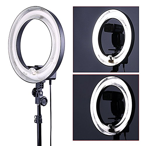 Neewer-14-Dimmable-Ring-Light-50W400W-equivalent-Continous-Camera-Photo-Video-Lighting-Recording-Youtube-Vine-Video-Ring-Light