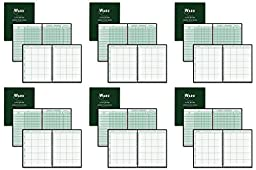 Ward 91018 Combination Record & Plan Book, 9-10 Weeks, 8 Periods/Day, 11 x 8-1/2 (HUB91018), 6 Packs