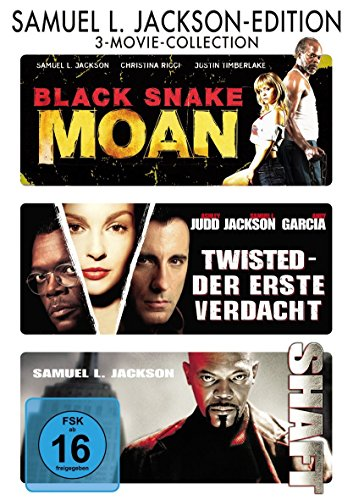 Samuel L. Jackson : Shaft - Black Snake Moan - Twisted - 3DVD Box