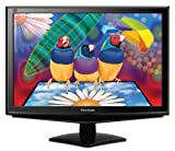 ViewSonic VA1948M-LED 19 inch LED Wide Screen Monitor - (VGA,DVI-D,1440 x 900, 16:10, 5m/s, 1,000:1/10,000:1, 250 cd/m, Built in Speakers)