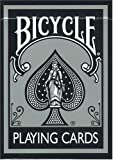 Bicycle Silver Finish Playing Cards