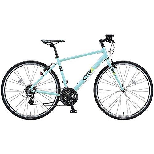 ブリヂストングリーンレーベル(BRIDGESTONE GREEN LABEL) クロスバイク CYLVA(シルヴァ) F24 T.Bスモーキーミント 480mm F24486