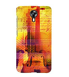Music Strings 3D Hard Polycarbonate Designer Back Case Cover for Micromax Canvas Xpress 2 E313 :: Micromax Canvas Xpress 2 (2nd Gen)