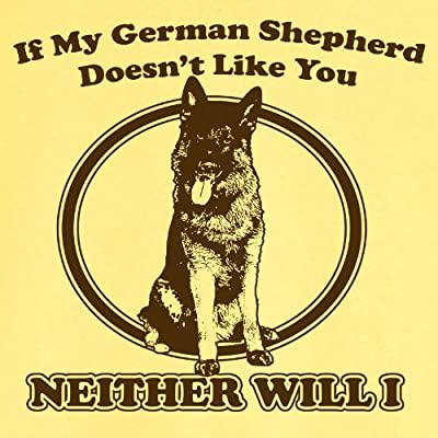 My German Shepherd Funny Novelty T Shirt Z12265
