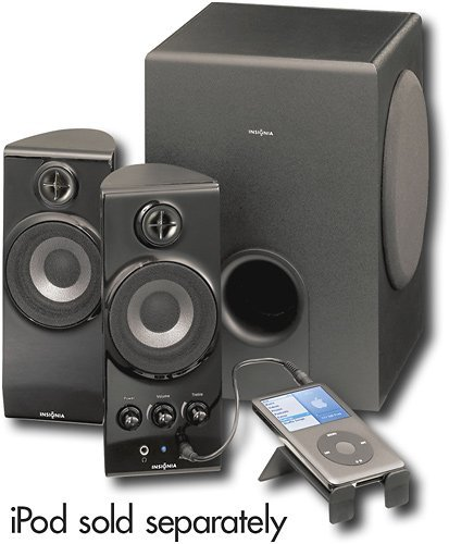 Insignia Ns-Pcs41 2.1 Computer Speaker System