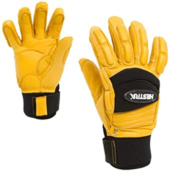 Hestra gloves yellow