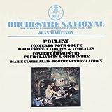 プーランク:オルガンのための協奏曲、田園コンセール(再プレス)