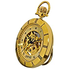 buy Steiner Men'S Mechanical Movement Pocket Watch With A Gold-Plated Brass Chain To Ensure That It Won'T Be So Easily Misplaced