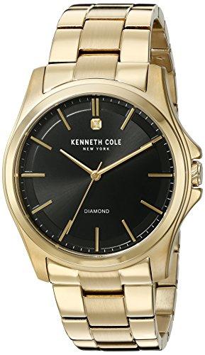 kenneth-cole-new-york-hombre-diamond-rock-out-cuarzo-acero-inoxidable-reloj-de-vestido-color-gold-to