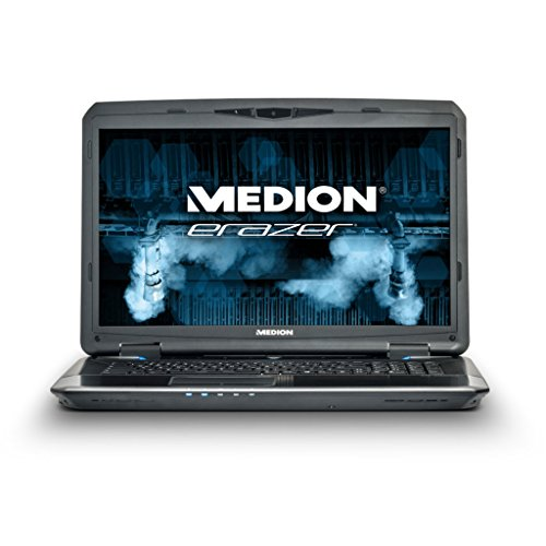 MEDION ERAZER X7829 (MD 99034) 43,9cm (17,3 Zoll) Notebook (Intel i7, 2,5GHz, 1TB HDD, 256GB SSD, 16GB RAM, Windows 8.1 Update, NVIDIA) schwarz