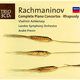 Rachmaninov: Complete Piano Concertos/Rhapsody on a Theme of Paganini (3 CDs)