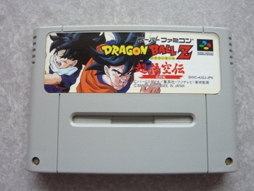 Dragonball Z Super Goku Den: Kakusei-Hen, Super Famicom (Japanese Super Nes Import) back-571669