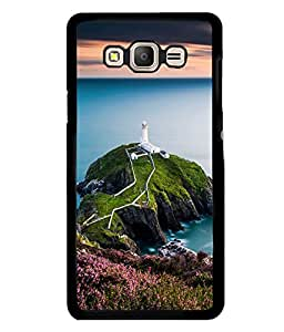 printtech Watchtower Sea Ocean Back Case Cover for Samsung Galaxy On7 Pro :: Samsung Galaxy On7