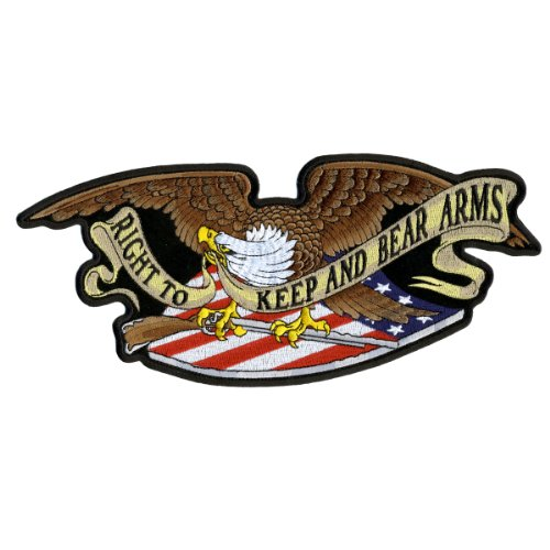 Hot Leathers Armed Eagle Patch (11