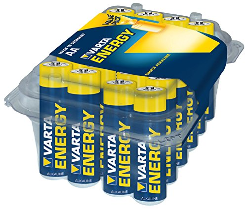 Varta Energy AA Mignon Alkaline Battery (Pack of 24)