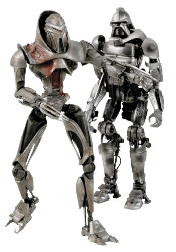 Picture of Diamond Comics Battlestar Galactica: Daybreak Cylon Action Figure Two-Pack (B002ZQ4PPS) (Diamond Comics Action Figures)