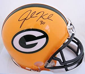 John Kuhn Green Bay Packers Signed Autographed Mini Helmet Authentic Certified Coa by Riddell