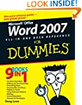 Word 2007 All-in-One Desk Reference F...