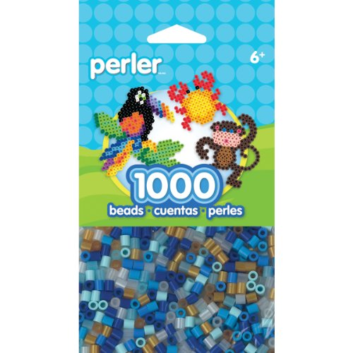 Perler Beads Holiday Winter Mix Bead Bag, 1000 Count