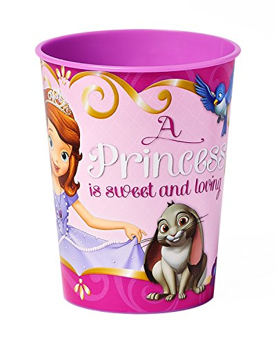 American Greetings Sofia the First 16-Ounce Plastic Party Cup, Party Supplies