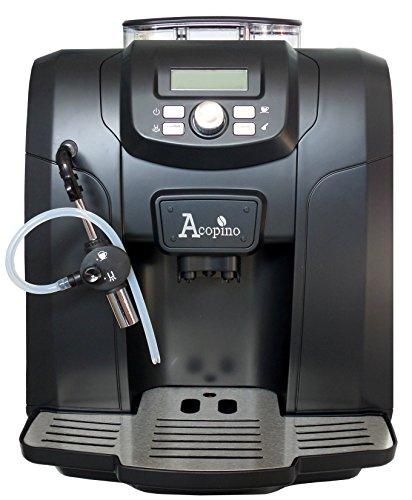 Acopino Ravenna Kaffeevollautomat und Espressomaschine,schwarz thumbnail